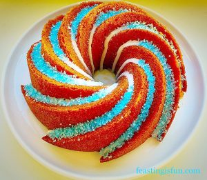 Boozy Lemon Drizzle Bundt Cake