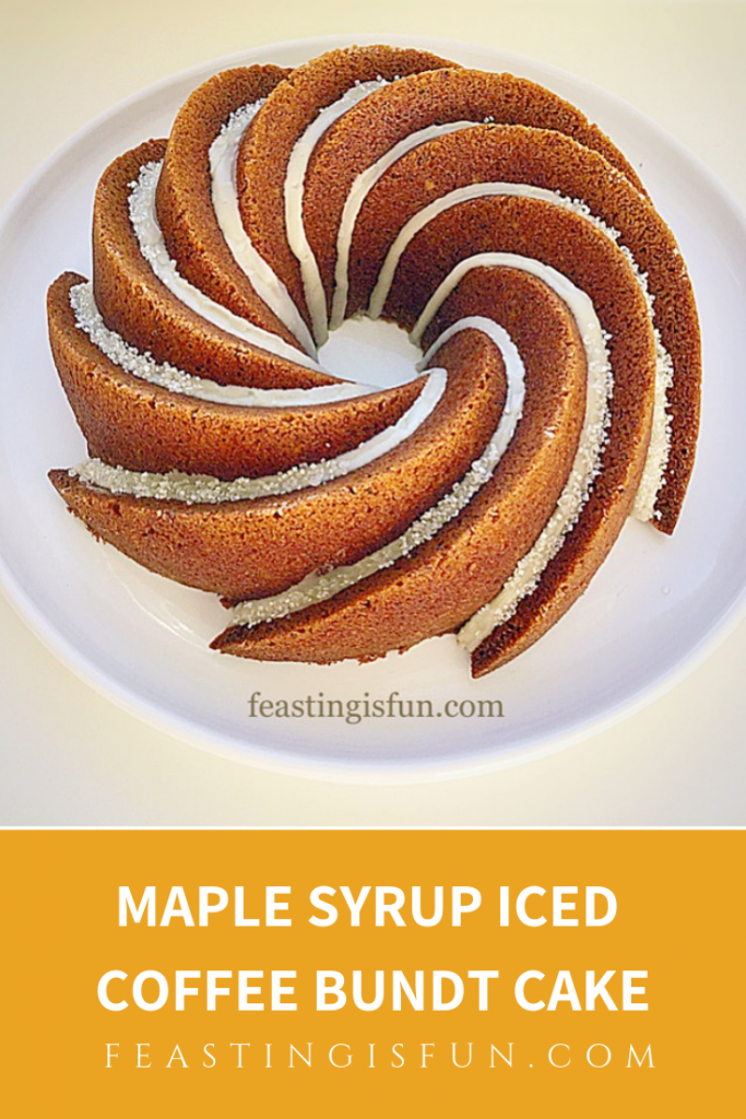 FF Maple Syrup Iced Coffee Bundt Cake