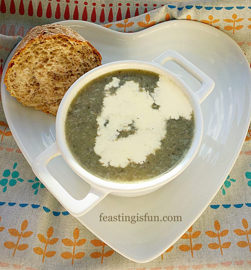 FF Creamy Low Fat Mushroom Soup
