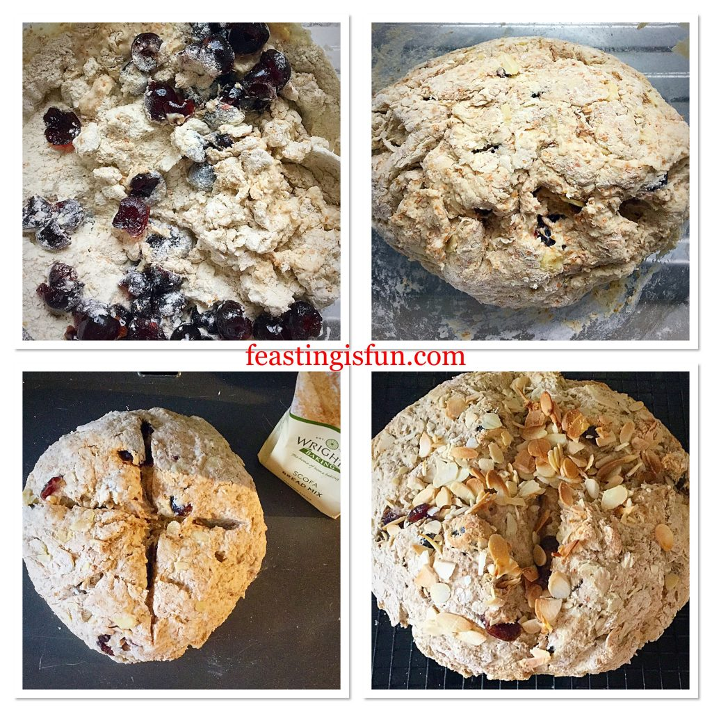 FF Cherry Bakewell Soda Bread