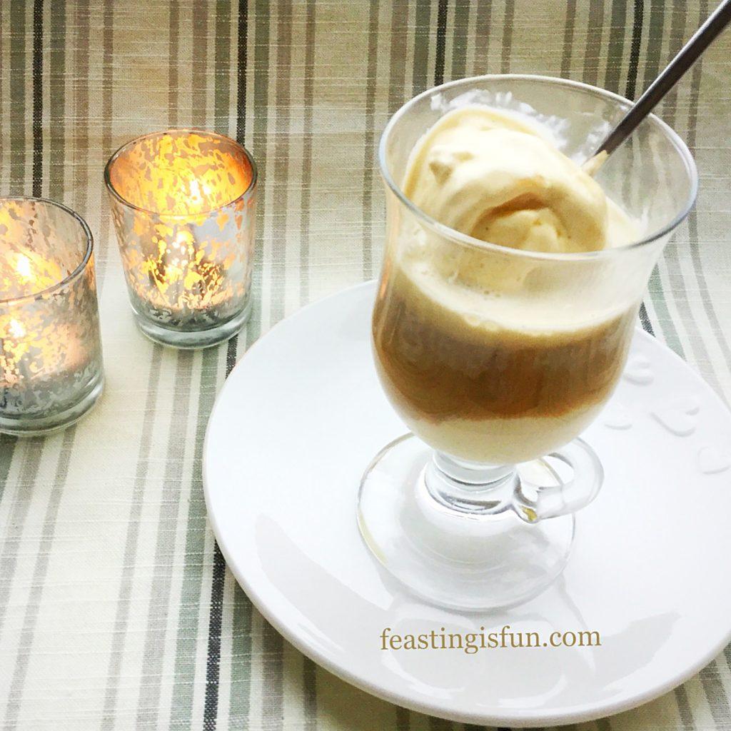 Affogato Italian Dessert.