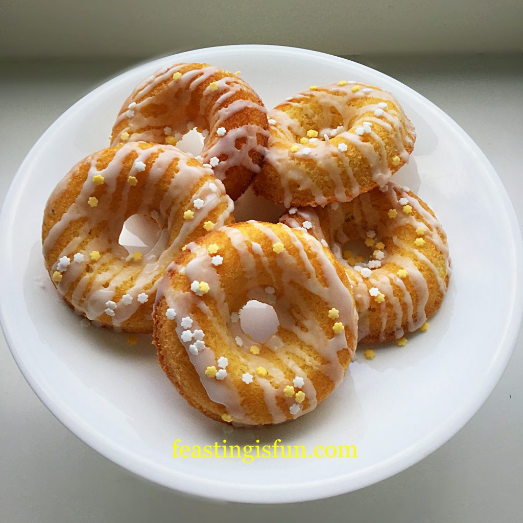 FF Baked Lemon Drizzle Doughnuts