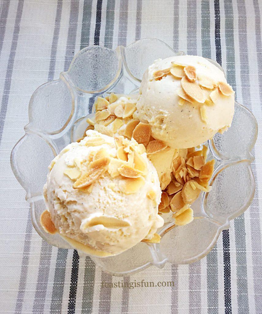 FF Amaretto Ice Cream