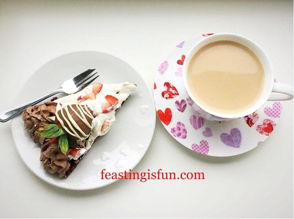 FF Pavlova and tea