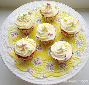 FF Maraschino Cherry Chocolate Drizzle Cupcakes