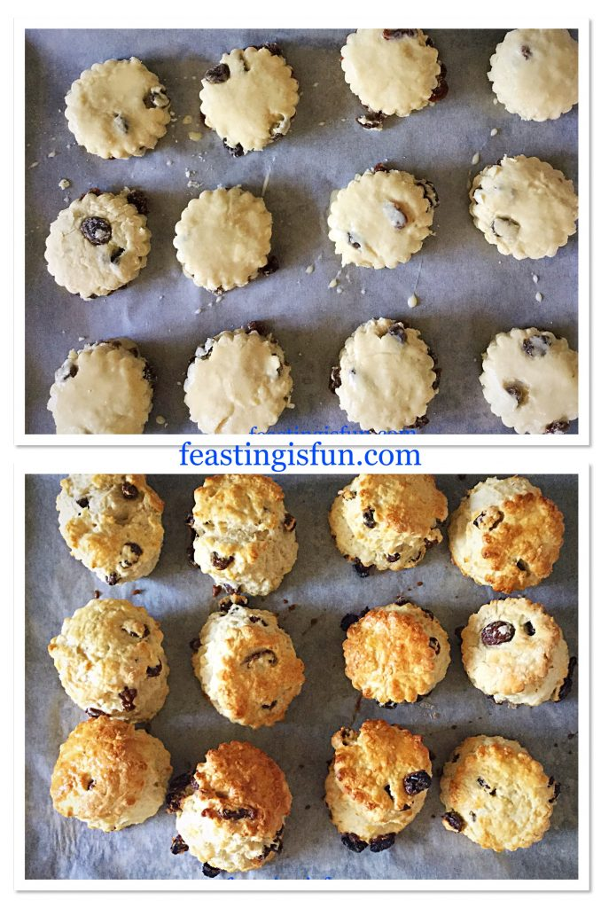 FF Fruit Filled Butter Scones