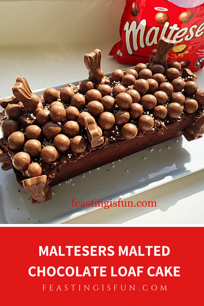 FF Maltesers Malted Chocolate Loaf Cake
