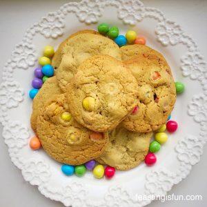 Chocolate Monster Mini Egg Cookies