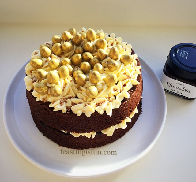 FF Golden Egg Chocolate Sponge Cake