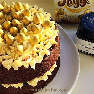 Golden Egg Chocolate Sponge Cake