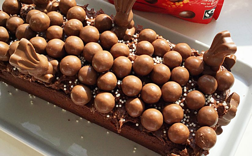 Maltesers Malted Chocolate Loaf Cake