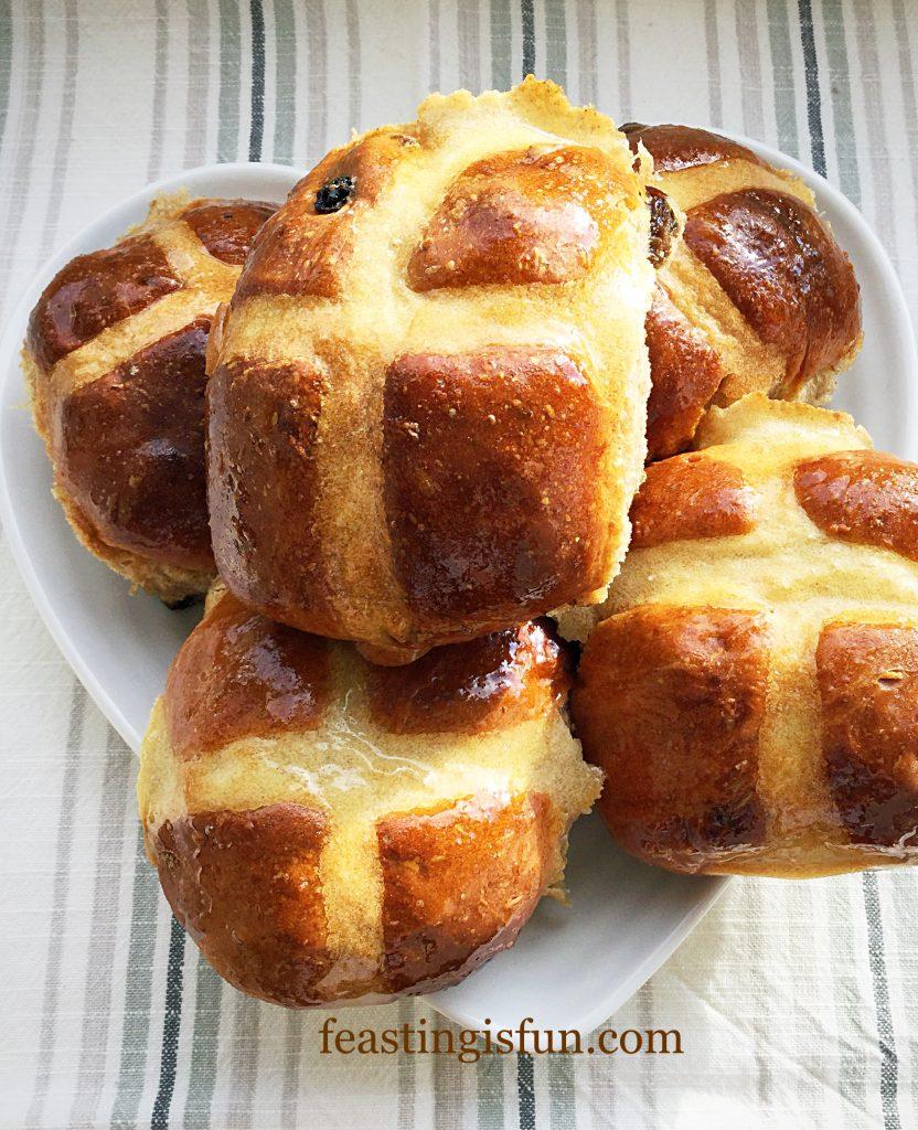 FF Extra Fruity Hot Cross Buns