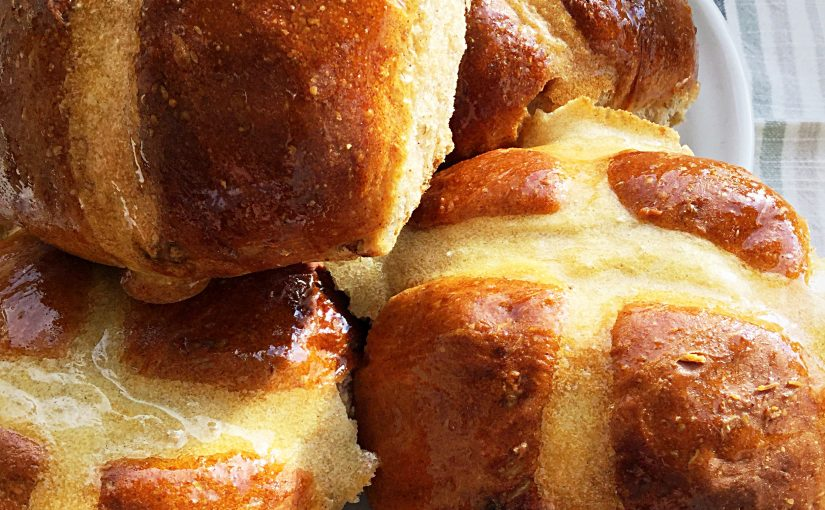 Extra Fruity Hot Cross Buns