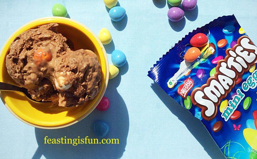 FF Smarties Chocolate Mini Egg Ice Cream