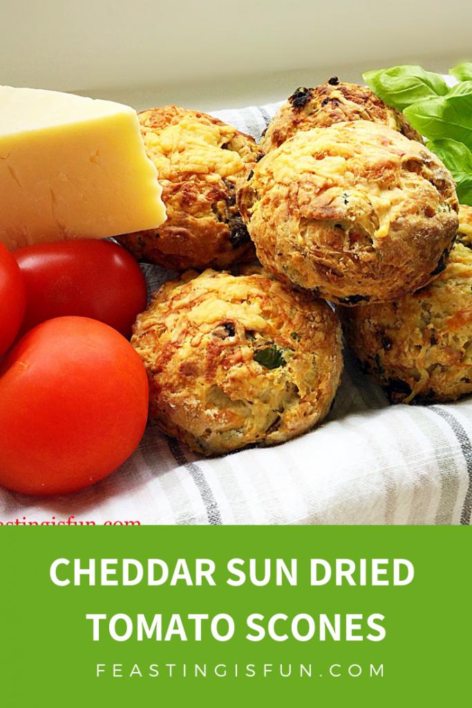 FF Cheddar Sun Dried Tomato Scones