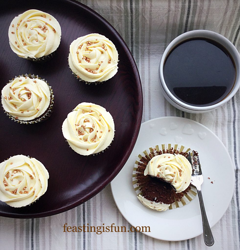 FF Double Chocolate Exam Busting Cupcakes