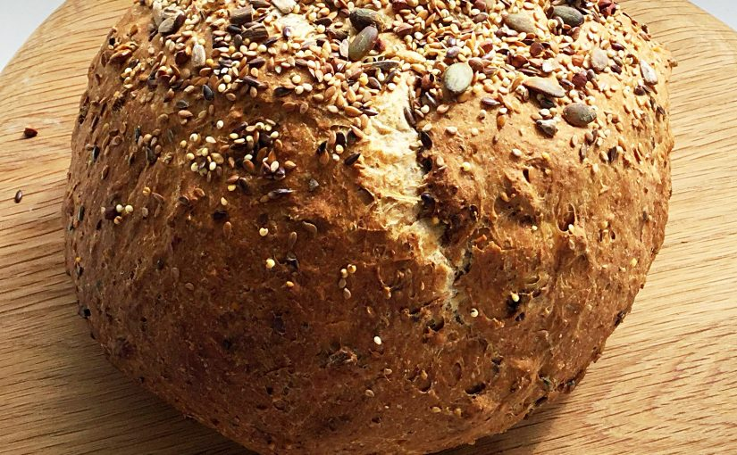 Seeded Cob Loaf