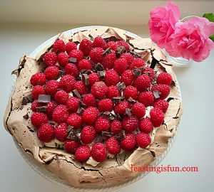 FF Toffee Cookie Base Chocolate Cheesecake