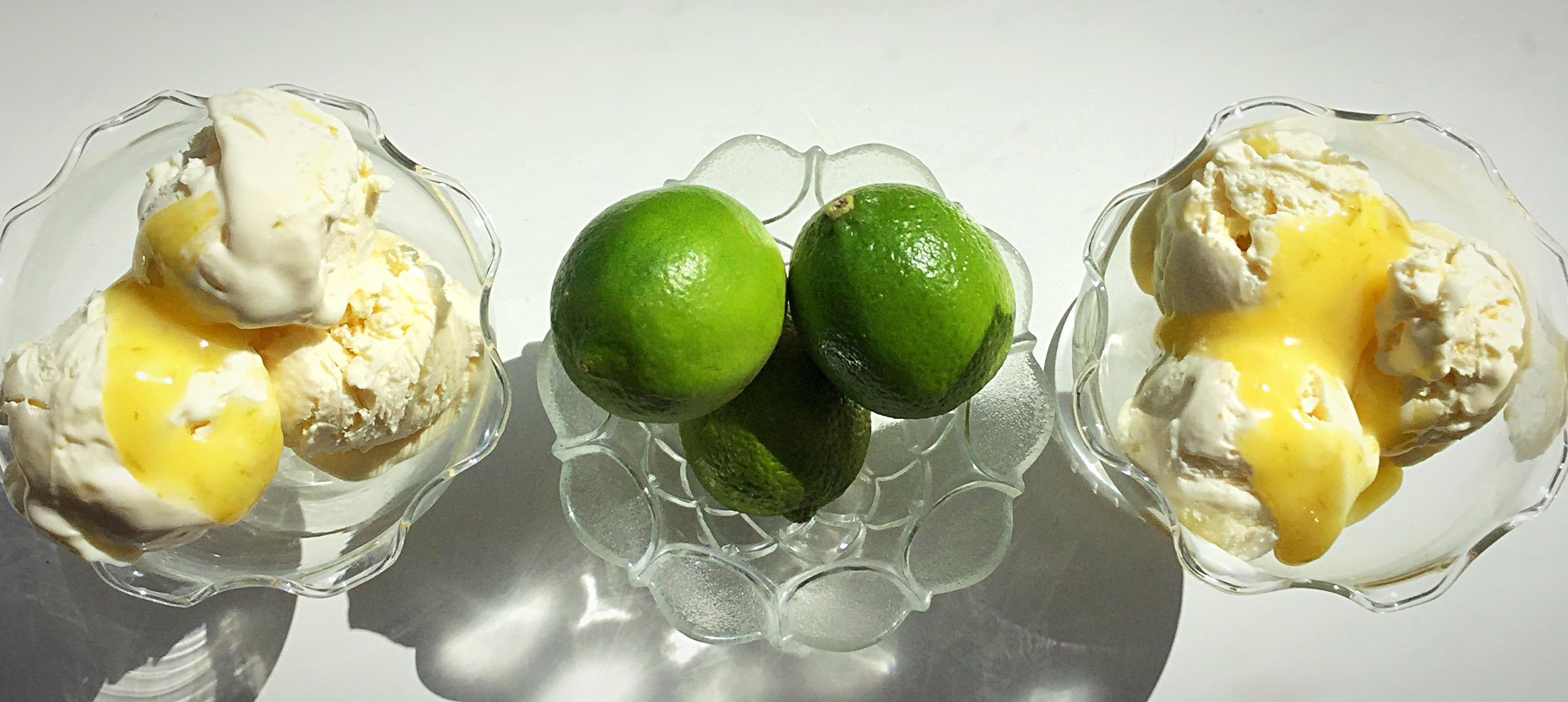 FF Lime Ripple Luxury Ice Cream