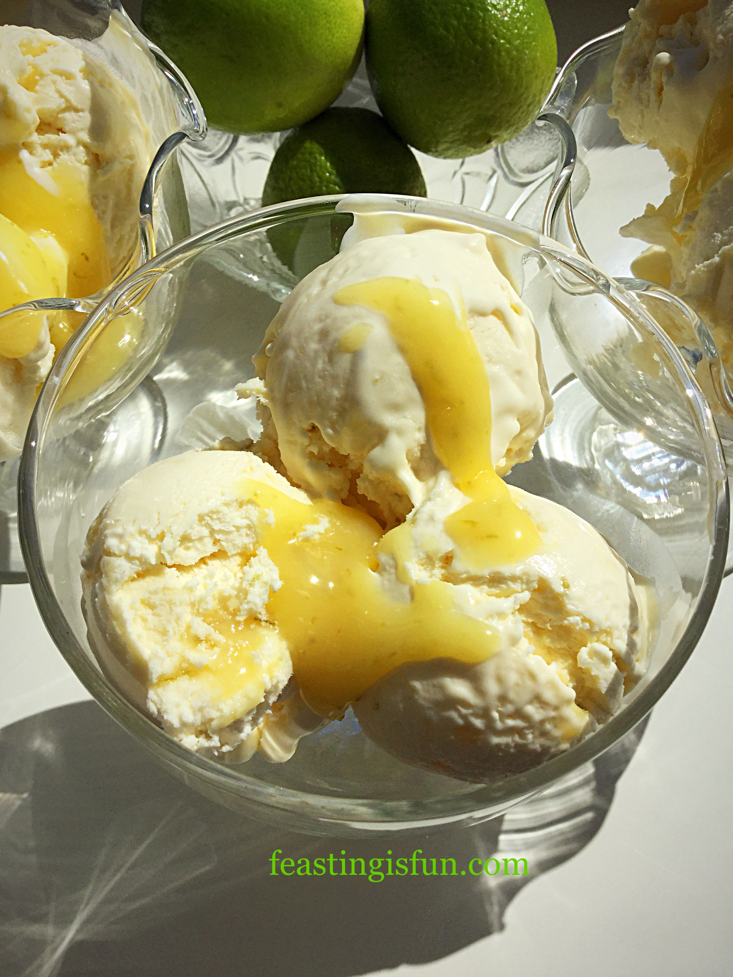 FF Lime Ripple Luxury Ice Cream