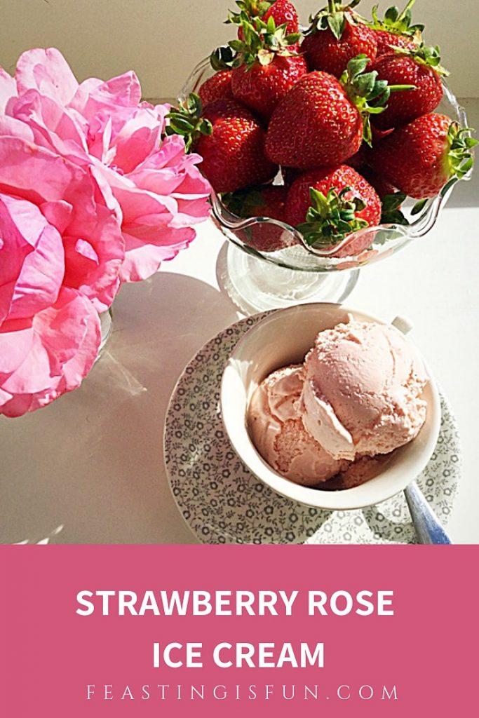 FF Strawberry Rose Ice Cream