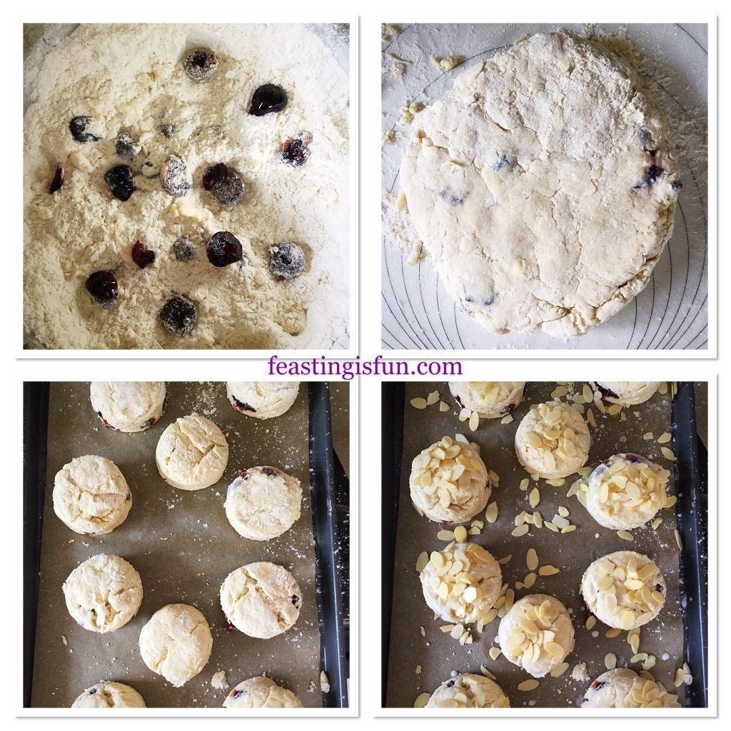 FF Almond Topped Cherry Scones