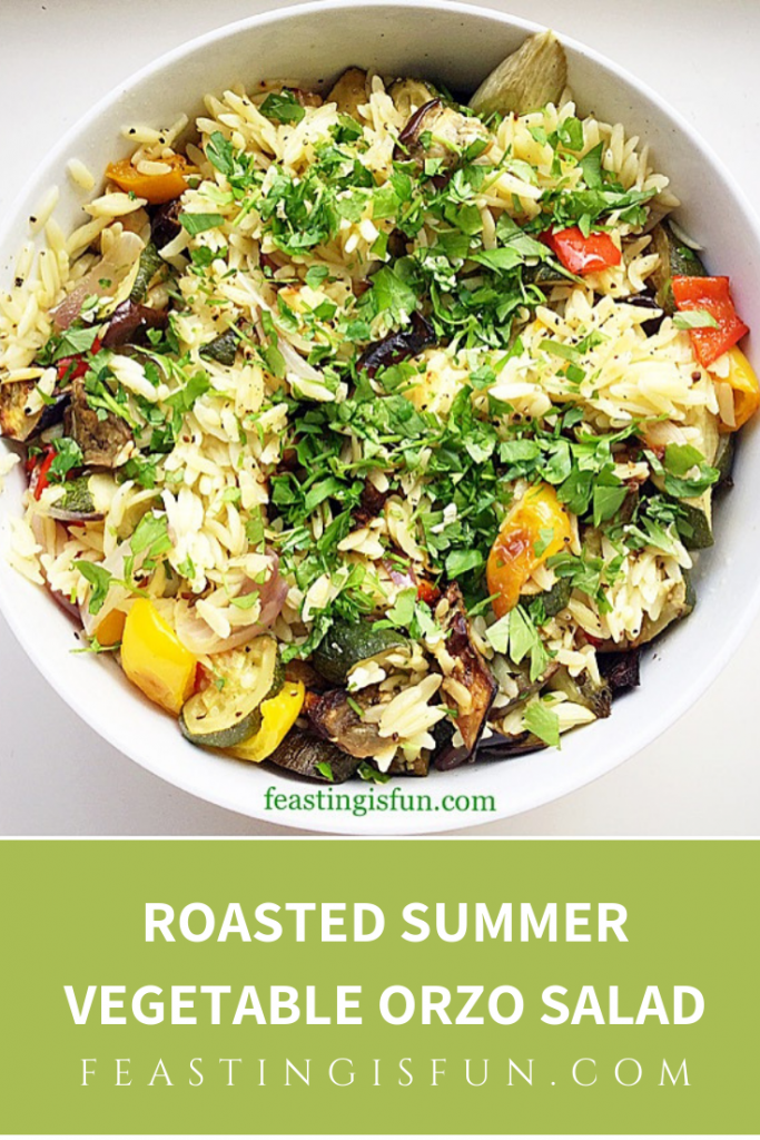 FF Roasted Summer Vegetable Orzo Salad