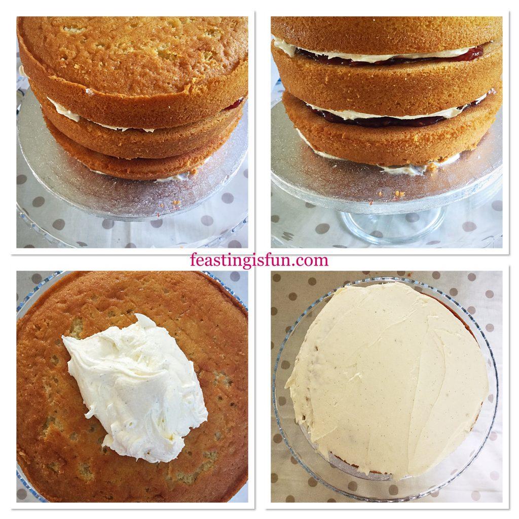 FF Raspberry Vanilla Naked Celebration Cake