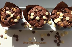 FF Chocolate Fudge Double Hazelnut Brownies