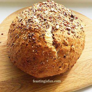 Seeded Cob Loaf