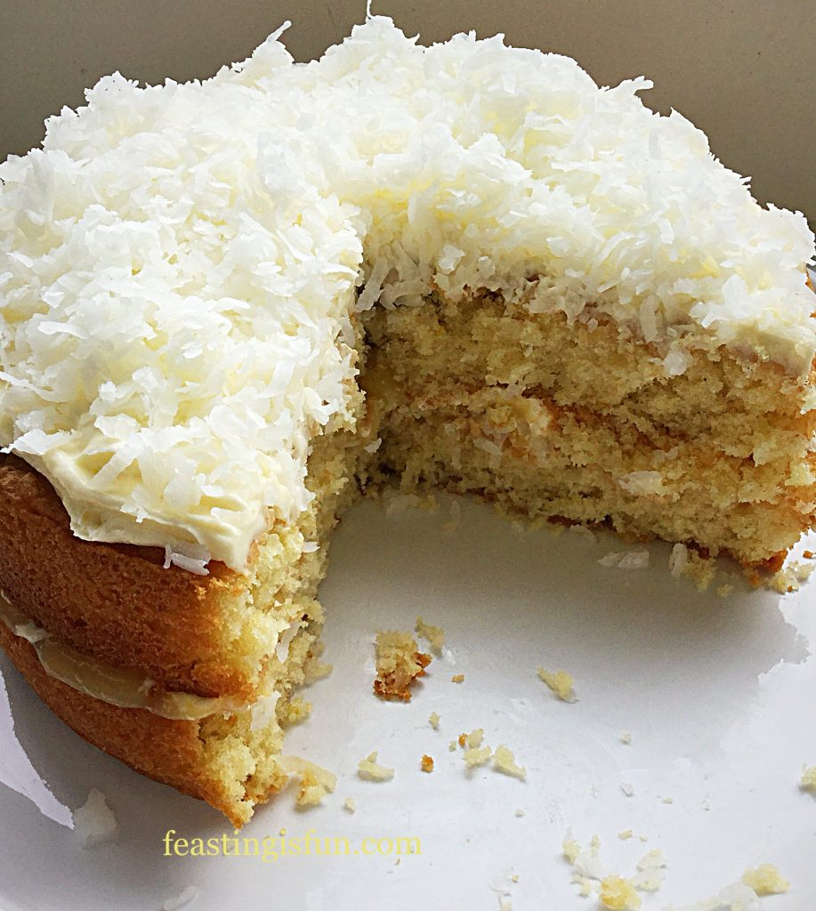 FF Lemon Coconut Sponge Layer Cake