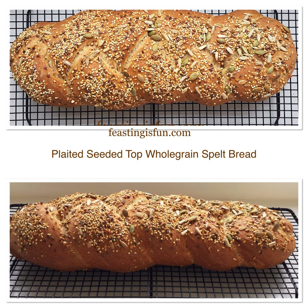 FF Plaited Seeded Top Wholegrain Spelt Bread
