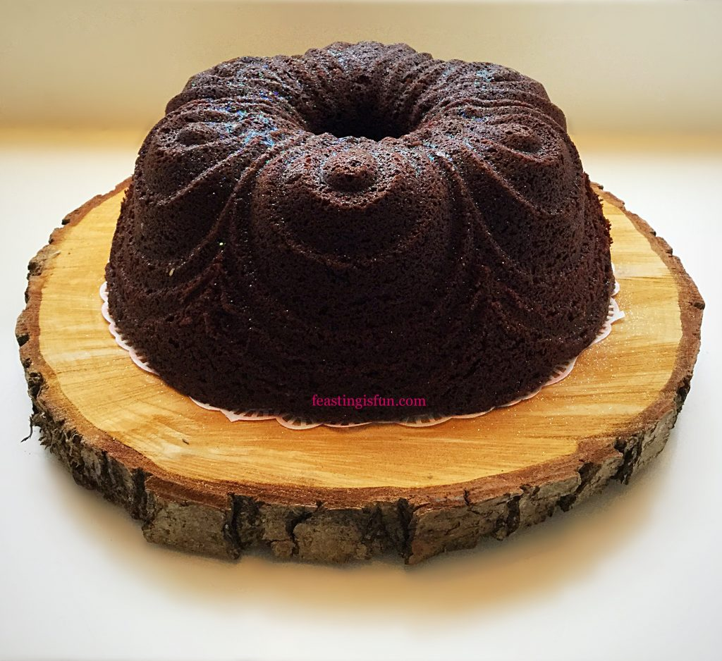 FF Chocolate Cherry Chiffon Bundt Cake