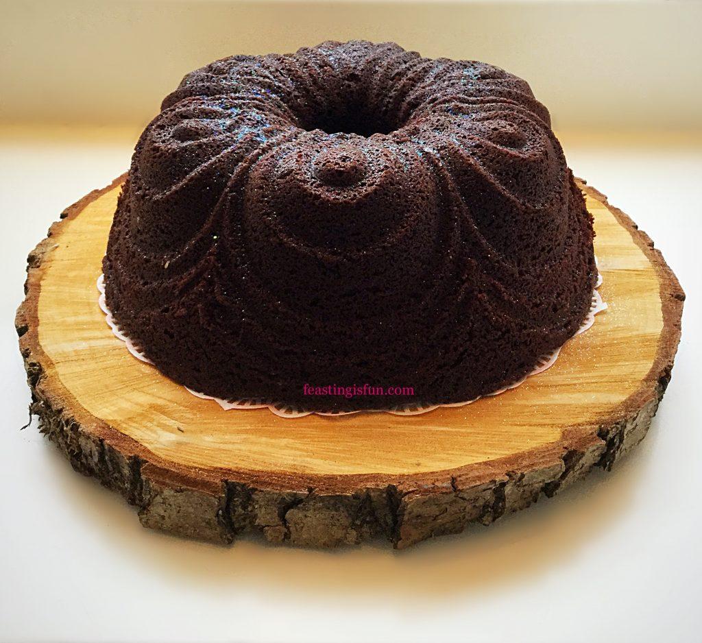 FF Chocolate Cherry Chiffon Bundt Cake