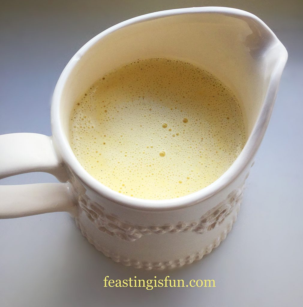 FF Luxury Homemade Vanilla Bean Custard