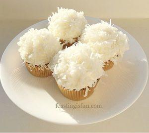 Coconut White Chocolate Cupcakes