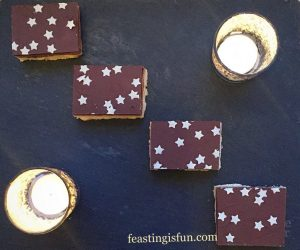 FF Hot Chocolate Fudge Sauce Covered Profiteroles