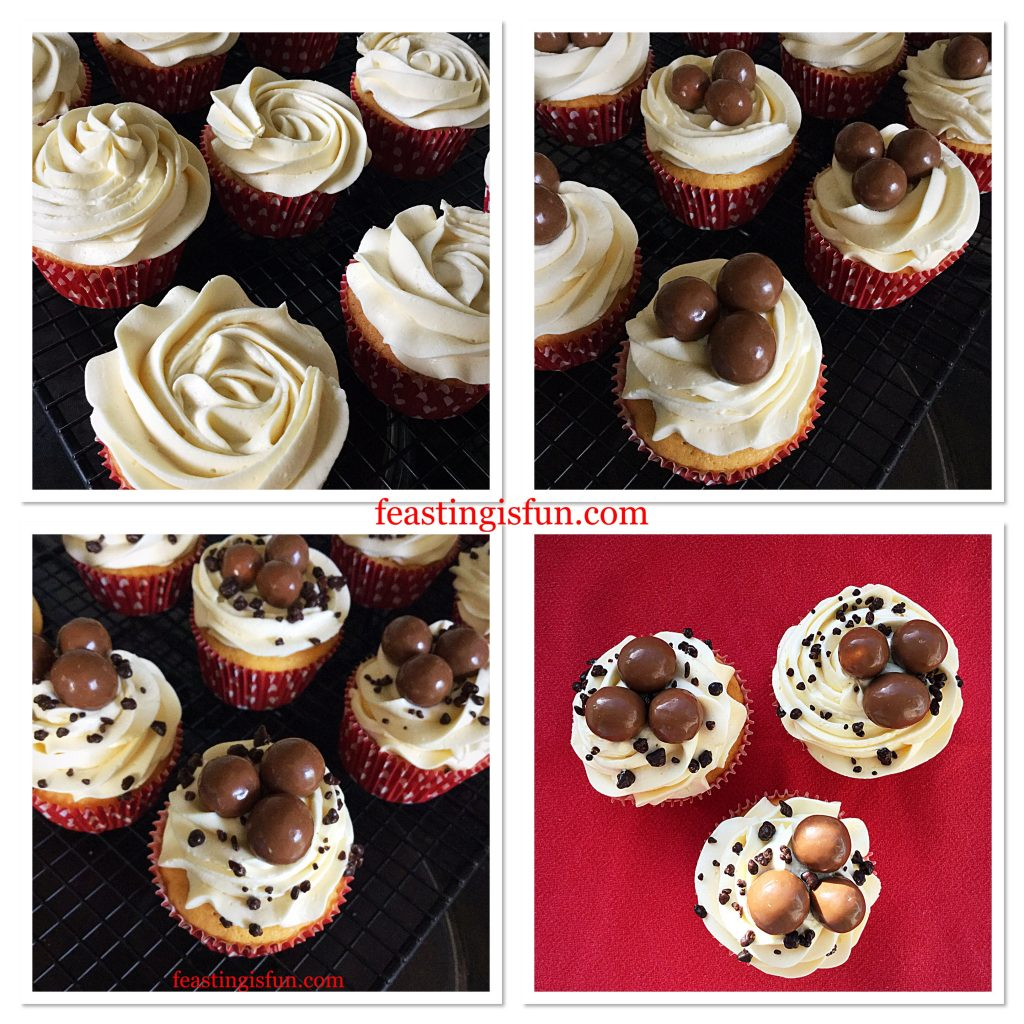 FF Maltesers Popping Candy Cupcakes
