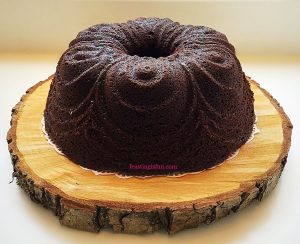 FF Coffee Pecan Nut Glazed Bundt Cake