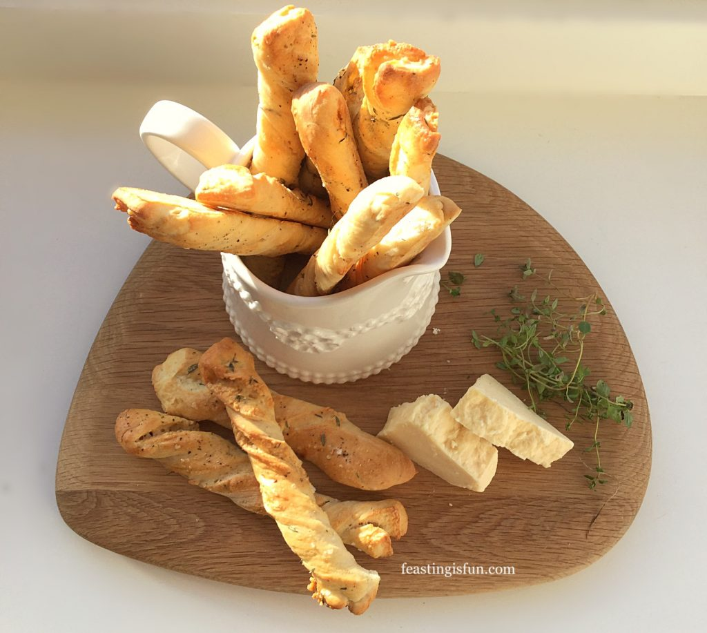FF Cheddar Cheese Thyme Soft Breadsticks