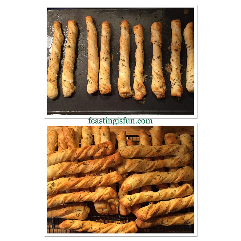 FF Cheddar Cheese Thyme Soft Breadsticks