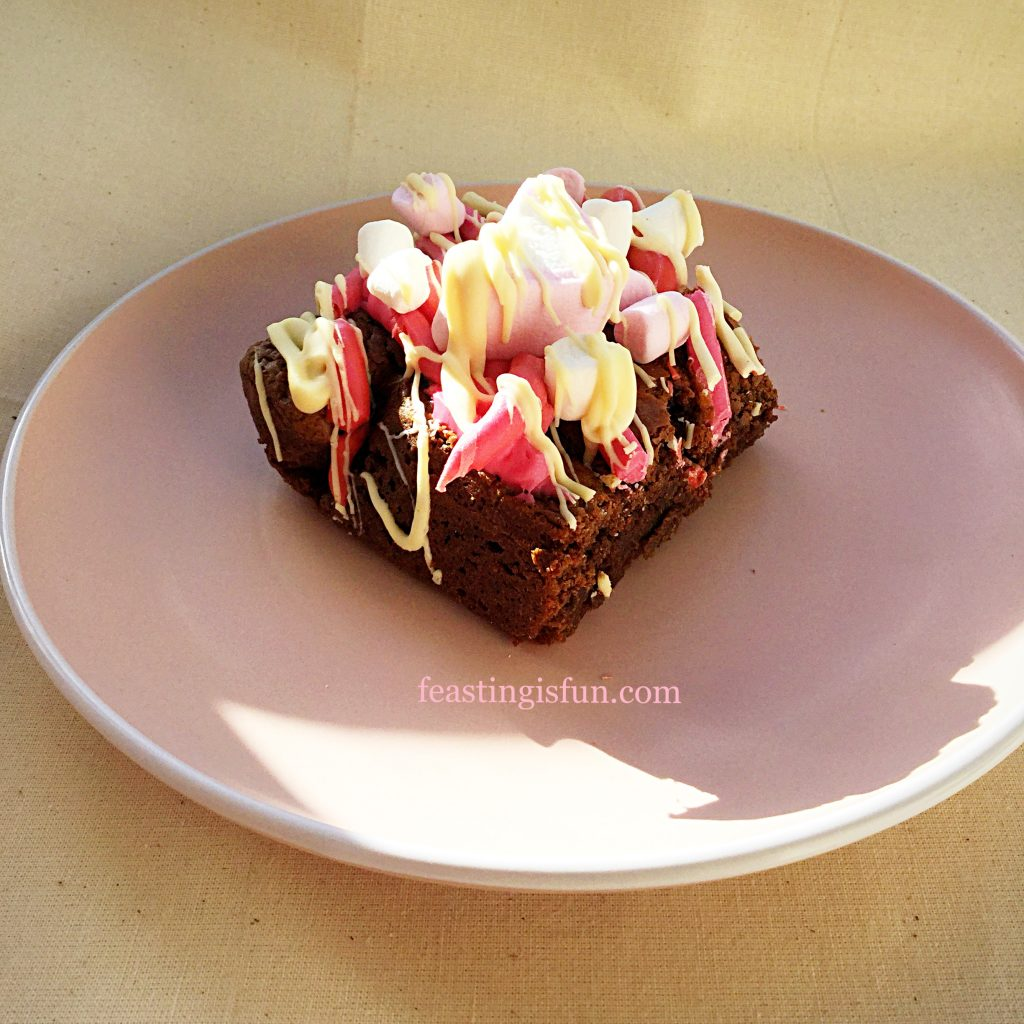 FF Marshmallow Topped Rich Chocolate Brownies