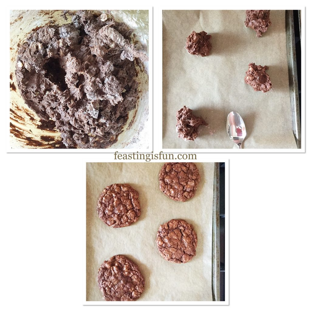 FF Bakery Style Soft Triple Chocolate Cookies