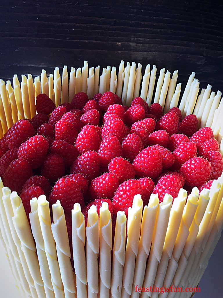 FF Raspberry Lemon Celebration Layer Cake