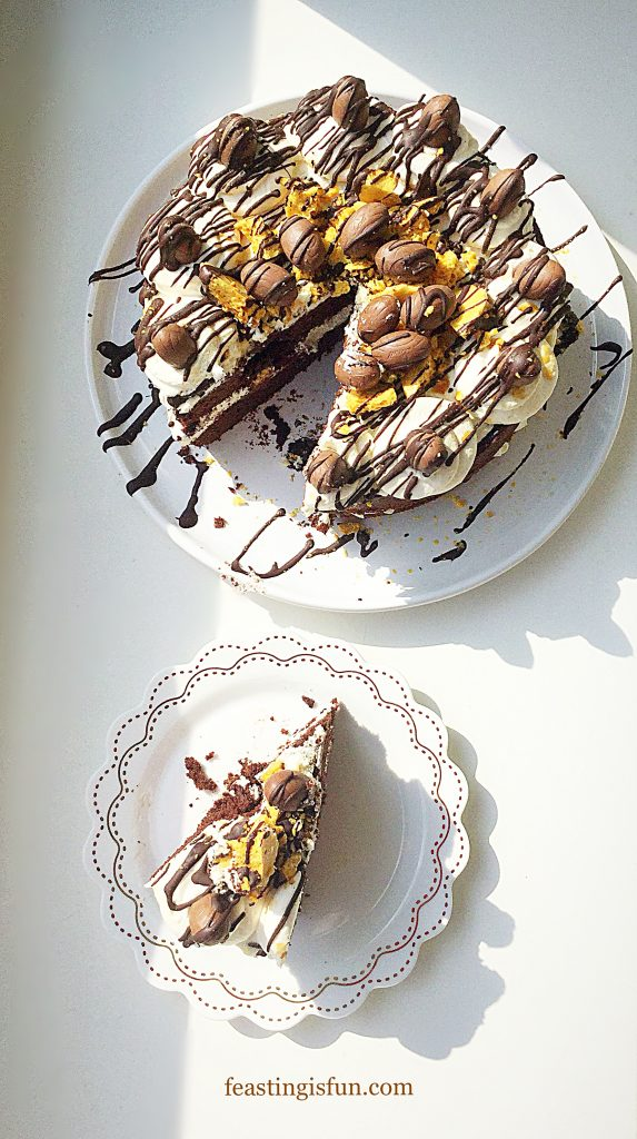 FF Chocolate Honeycomb Sponge Cake