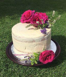 FF Summer Mixed Berry Sponge Cake