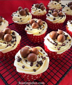 Maltesers Popping Candy Cupcakes