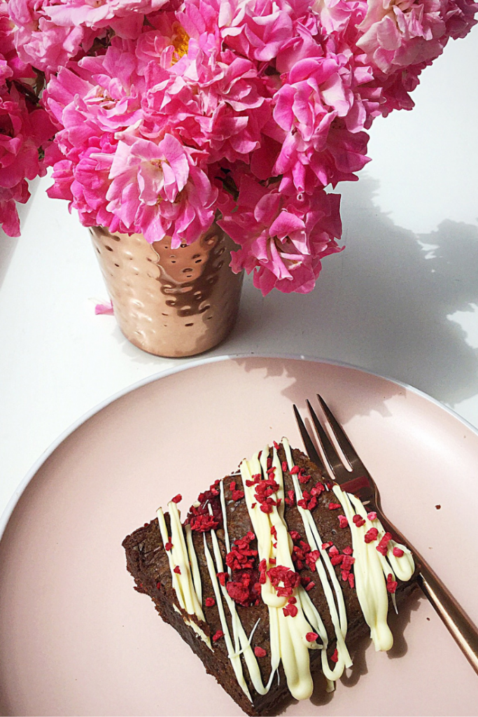 FF Raspberry Chocolate Fudge Brownies