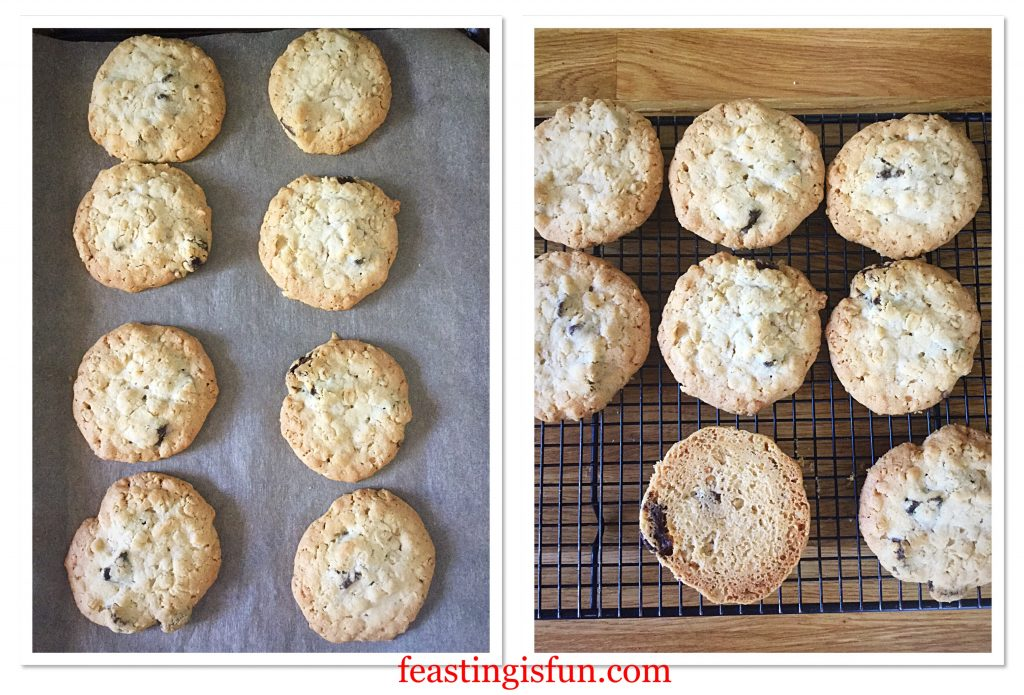 FF Strawberry Oat Crumble Cookies