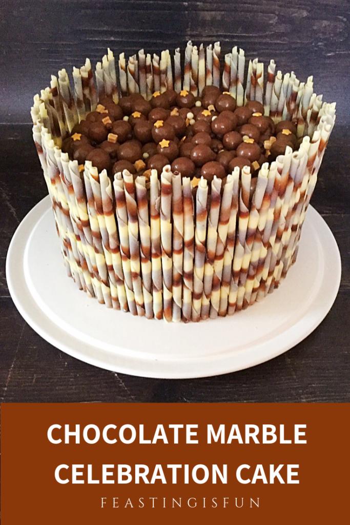Celebratory bake sized for Pinterest with descriptive graphics.